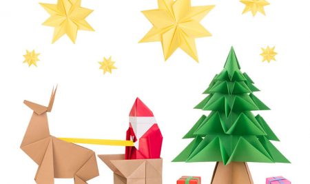 Holiday Origami Workshop at the Mall